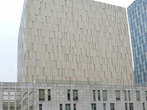 冲孔铝单板建筑