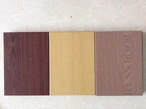 各色系仿木纹铝单板